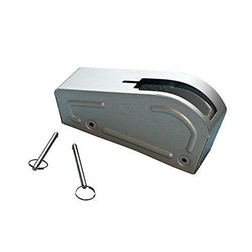 B&M 80717 Brushed Aluminum Cover for Pro Stick Automatic Shifter ()