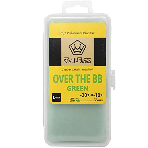 [해외]マツモト 왁 스 OVER THE BB (LARGE 200g) 왁 스 베이스 메이크 연습 시 유도 용 / Matsumoto Wax over the BB (large 200g) wax base make and practice for planing