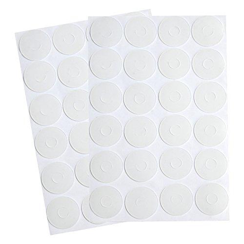 BBTO Adhesive Non-Slip Grips for Quilt Templates, Semi-Transparent (96 Pieces) ()
