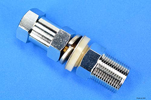 Heavy Duty SO-239 Stud Mount for CB Radio Antenna - Aries 30319 Bulk - Compare to K4A ()