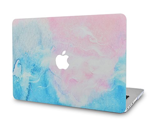 LuvCase MacBook Pro 13 Case 2018 & 2017 & 2016 Plastic Hard Shell Cover for MacBook Pro 13.3