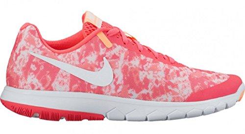 NIKE Women's Flex Experience RN 6 Premium Running Shoe, Racer Pink/White/Sunset Glow/Lava Glow, 9 B(M) US (Nike Track Shoes Women)