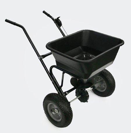 Push esparcidor 30 kg con neumáticos WilTec