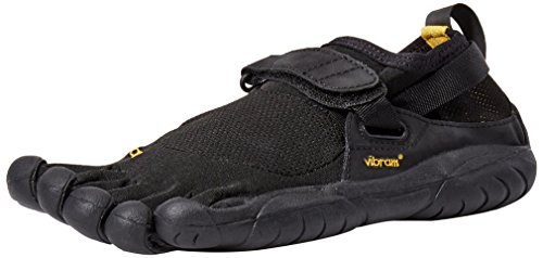 Vibram Women's KSO Running Shoe, Black, 41 EU/9-9.5 M US