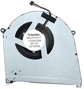 FCQLR Laptop Ventilador para SUNON MG75151V1-1C020-S9A DC 12V 5.4W ...
