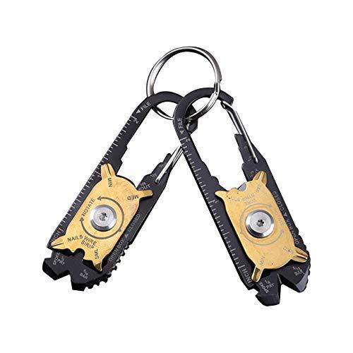 Edc 20 In 1 Multifunctional Combination Tool Portable Outdoor Keychain Screwdriver Bottle Opener Tool Multi Gadget