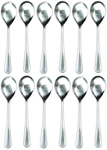 Handi-Ware Serving Spoon - Every Day - Mirror Polish - Stainless Steel - Value Pack (12, 10
