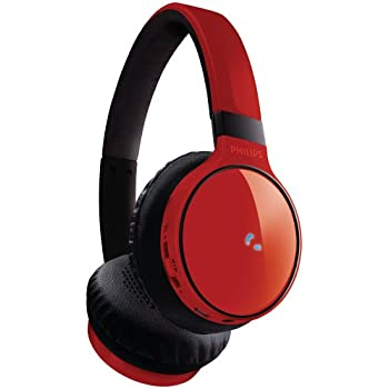 Philips SHB9100RD/28 Bluetooth Stereo Headset, Red