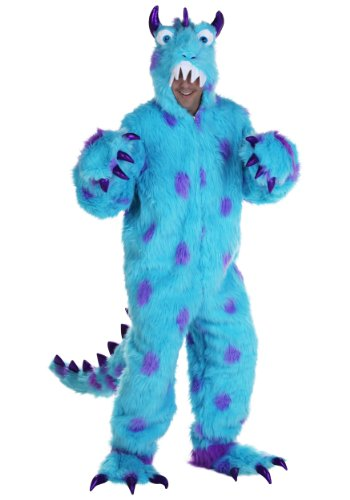 Adult Furry Costumes (Adult Sullivan the Monster Costume Large / X-Large)