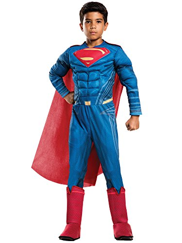 Rubie's Batman v Superman: Dawn of Justice – Kids Deluxe Superman Costume