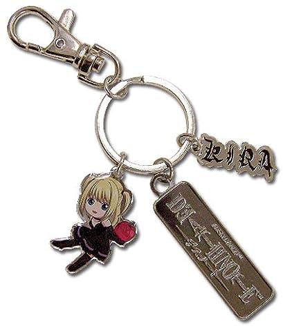 Amazon.com: Oficial Death Note Misa/W Apple & Kira Charm SD ...