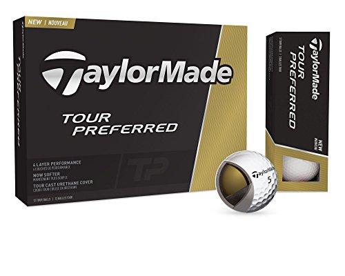 TaylorMade Tour Preferred Golf Balls, Prior Generation One Dozen