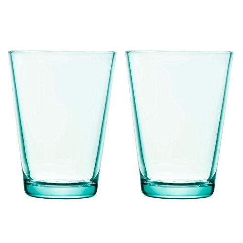 Iitala Kartio Tumblers (13.5 Oz), Set Of 2, Water Green, used for sale  Delivered anywhere in USA