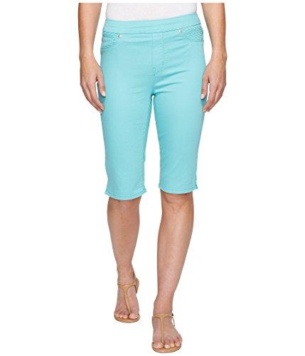 ジャベスウィルソンハードリングメルボルン[トライバル] Tribal レディース Pull-On 13 Bermuda Dream Jeans in Soft Touch Denim パンツ Aqua 14 [並行輸入品]