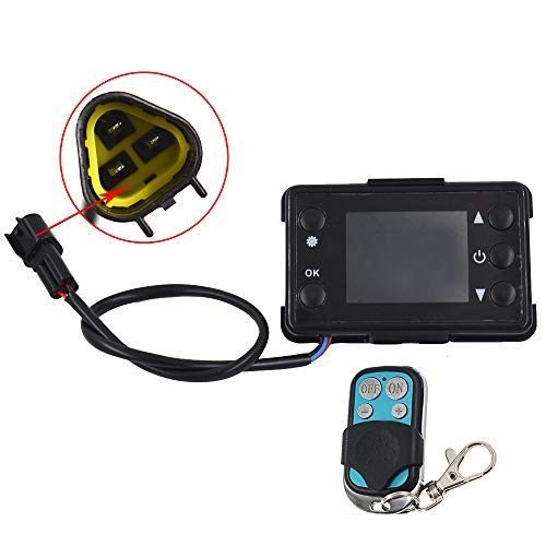 Heater LCD Monitor Switch /& Remote Control Controller For Car Diesel Air Parking