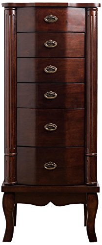 "Hives and Honey ""Abigail"" Jewelry Armoire, Walnut"