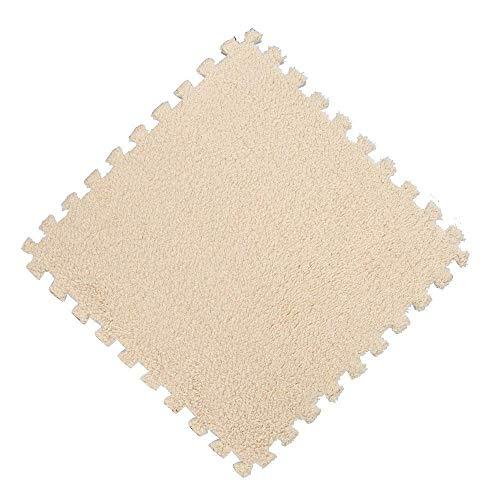 AiBarle Home Living 25* 25cm bambini tappeto puzzle in gommapiuma EVA Shaggy Velvet Baby Eco, 7colori