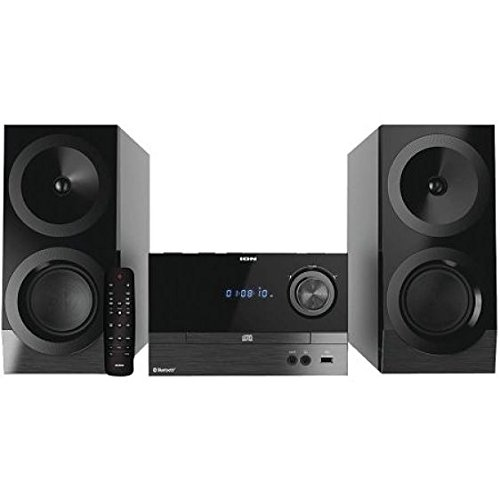 ION Audio Compact Shelf System iAS01 | All-In-One Hi-Fi CD/F