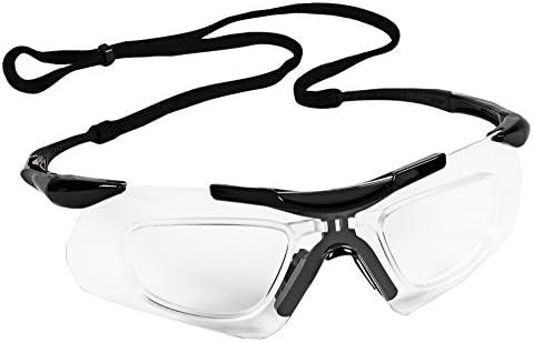 a564e2f6ebc Jackson Safety V60 Nemesis Safety Glasses with Rx Inserts (38503 ...