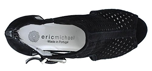 Eric Michael Womens, Crystal High Heel Sandal Black