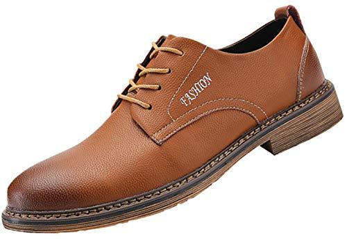 Herren Freizeitschuhe Business-Mode Schuhe Bequem Und Vielseitig Brown