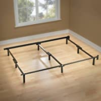 Compack 7 Adjustable Metal Bed Frame for Twin, Full,or Queen Box Spring