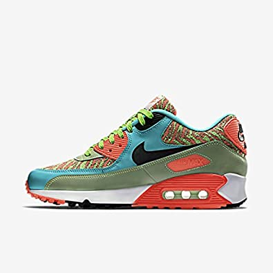 more photos bc01d 8f87d nike air max 90 anniversary mens trainers 725235 sneakers shoes (uk 6 us 7  eu 40, flash lime black hyper jade infrared 306)  Amazon.co.uk  Shoes   Bags
