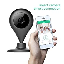 Wireless Smart Camera, Network IP Camera,Misafes 360 Rotation 2-Way Audio H.264 Wi-Fi Camera Baby/Pets/Security/Home Monitor with 720p,for IOS and Andriod