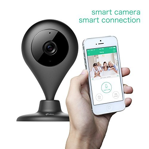 MiSafes WiFi Baby Pet Video Monitors 1280x720p Wireless Security Camera HD Remote Home Surveillance Indoor Cameras with 2 Way Audio Talk for iPhone ...