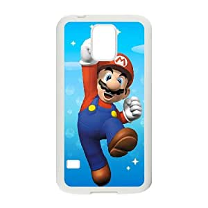 mario bros Samsung Galaxy S5 Cell Phone Case White SA9733129