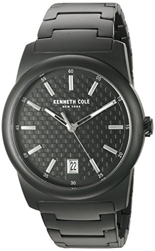 Kenneth Cole New York Men's 10025895 Classic Analog Display Japanese Quartz Black Watch
