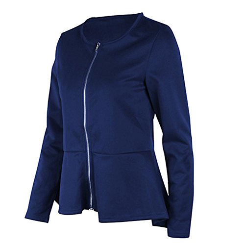 Chemiser Slim Guesspower Casual T Simple Blouse Longues Solide l'paule Sport Bleu Shirt Basique Tops Pull Manches Tops Ray Blouse Shirts wCpB7