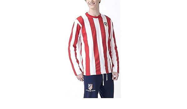 Pijama Atlético Madrid Oficial niño (10): Amazon.es: Deportes y aire libre