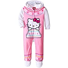 Hello Kitty Little Girls' Hooded Fleece Blanket Sleeper