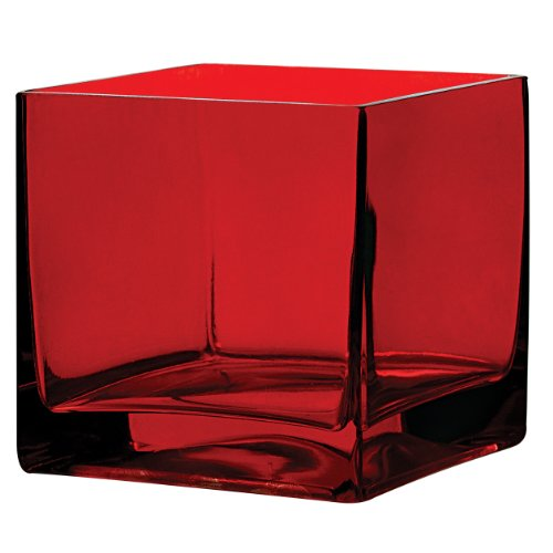 Red Square Vase - Syndicate Sales 5