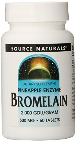 (SOURCE NATURALS Bromelain 2000 Tablet, 60 Count)