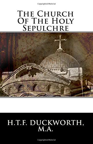 Read Online The Church Of The Holy Sepulchre PDF