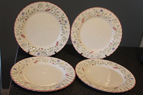 Summer Chintz - Summer Chintz by Johnson Brothers, Set of 4 Dinner Plates 10 1/2