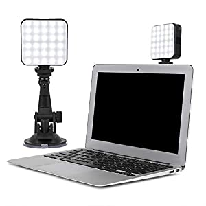 Best Epic Trends 41ahZ4PgGyL._SS300_ Akinger Video Conference Lighting Kit, Webcam Style Mount for Laptop/Computer, for Video Calls, Zoom Lighting and Remote…