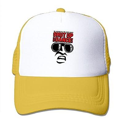 Baseball Cap Shut up and Dance Adjustable Snap Back Custom Mesh Trucker Hat from Swesa