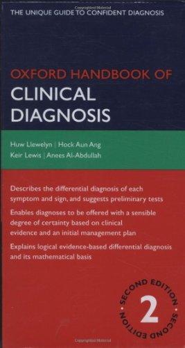 Oxford Handbook of Clinical Diagnosis (Oxford Handbooks Series)