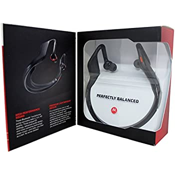 Motorola S11 HD Wireless Stereo Headphones - Retail Packaging - Black