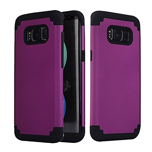 galaxy-s8-case-greenelec-hybrid-heavy-duty-dual-layer-armor-defender-protective-rubber-case-with-fit
