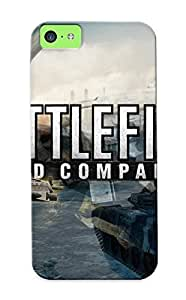 Awesome Design Battlefield - Bad Company 2 Hard Case Cover For Iphone 5c(gift For Lovers)