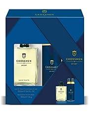 Crossmen Original Set para Hombre: Eau de Toilette Natural Splash 100 ml + Desodorante Body Spray 150 ml