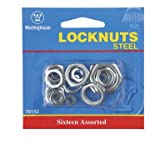 Westinghouse 7015200 Steel Locknuts Assorted Sizes