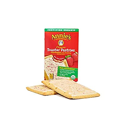 Annie's Organic Naturally Flavored Toaster Pastries: Strawberry with Frosting - 18 ct.: Everything Else