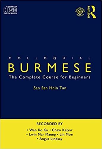 Book Colloquial Burmese: The Complete Course for Beginners