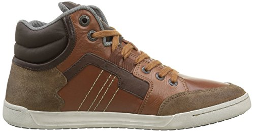 Kickers Homme Baskets Craffiti Camel Hautes Marron ZZO8wqU