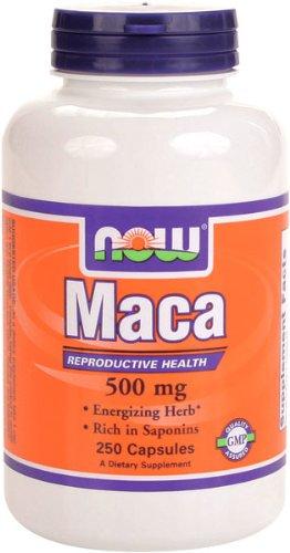 NOW Foods Maca 500mg, 250 capsules